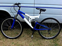 """ADULTS FULL SUSPENSION MOUNTAIN BIKE 18SPD WITH A 18"""" INCH FRAME"""