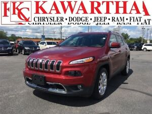 2016 Jeep Cherokee LTD*LUXURY AND SAFETY GROUP**EXECUTIVE DEMO*