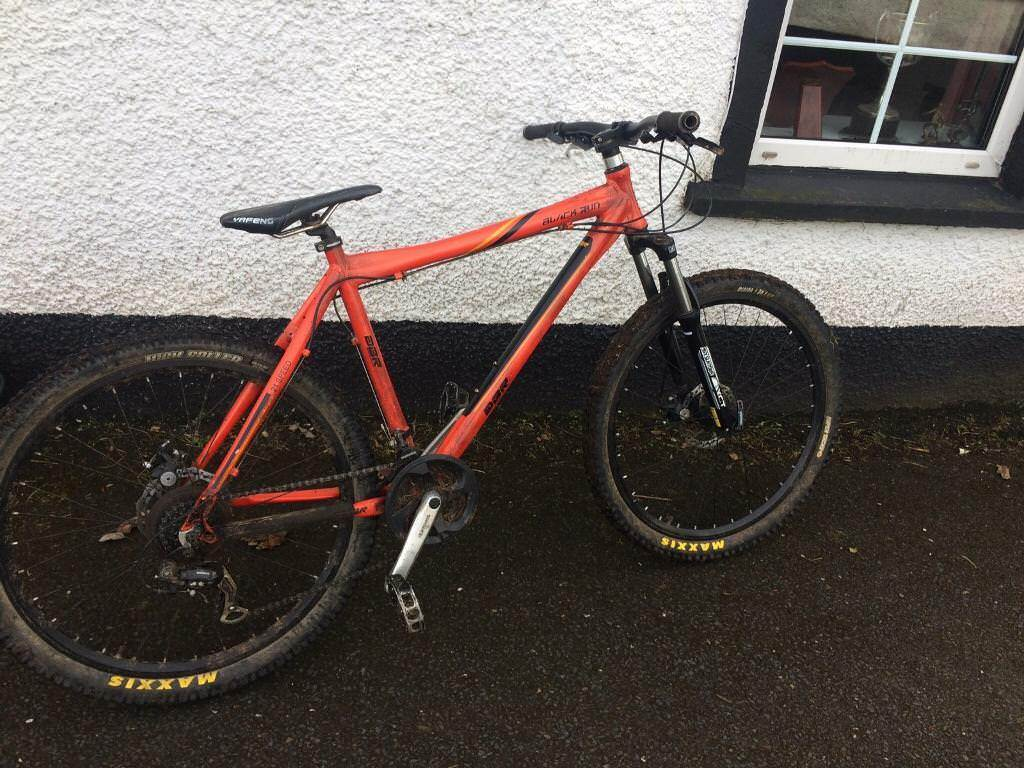 Diamondback DBR mountain bike hardtail custom