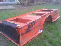 Land rover defender 110 seat box italian import van so NO ROT!