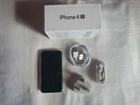 New Unlocked Black iphone 4s