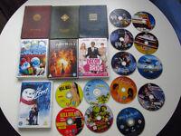 DVD bundle - 20 movies - region 2