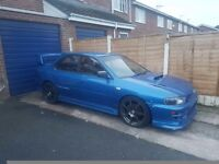 Subaru impreza turbo import semi forged