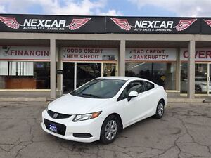 2012 Honda Civic LX C0UPE 5 SPEED A/C CRUISE 56K