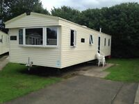 8 berth caravan Haggerston castle book now...