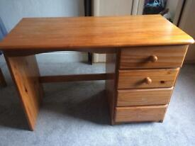 1 Bedroom Drawer + 1 wooden dressing table