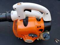 stihl sh56 handheld leaf blower/shredder in very clean and good working condition
