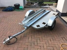 Motorcycle trailer by Lider
