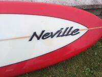 7ft Mark Neville Surfboard