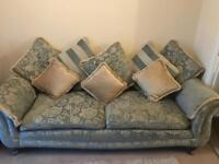 Barker and Stonehouse 3 piece suite with foot stool