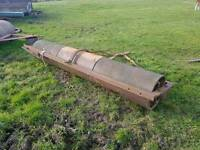Tractor 8ft land field paddock roller