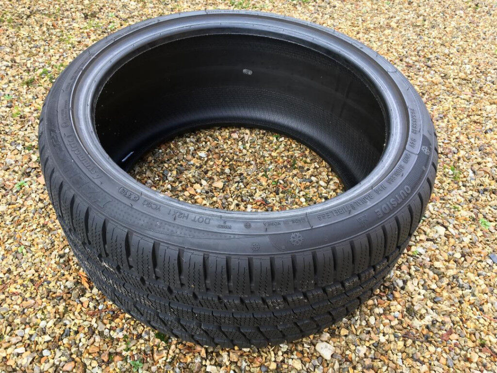 """Set of 18"""" Kumho Winter tyres for sale"""