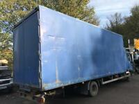 Truck body 22 ft alloy box ideal storage £450