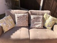 Free 2-Seater Couch - Comfortable but with one sunken spring