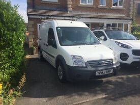 Transit connect TD 5 seater, lwb and high roof