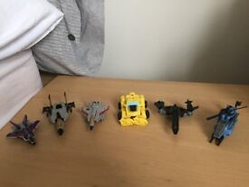 Transformers aeroplane figures bundle