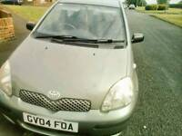 Toyota Yaris £425ono, 04 reg, 86500 miles