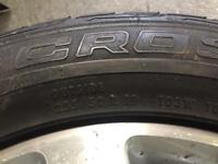 4 225x50x19 Continental Jeep Tyres