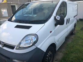 2005 Vauxhall Vivaro Panel Van