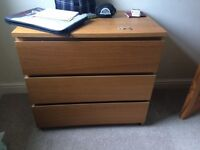 Chest of drawers £20