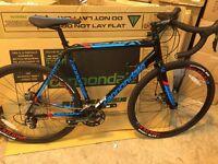 Cannondale 2016 CAADX Tiagra Mens Cyclocross Bike - Black (BRAND NEW)