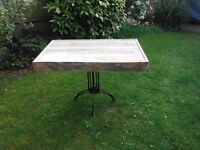 Rustic Pallet Bistro Table