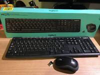 99 % New Logitech MK 270 Wireless Keyboard and Mouse Bundle