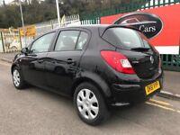 2011 (61 reg) Vauxhall Corsa 1.2 i 16v Exclusiv 5dr Hatchback Petrol Low Miles 5 Speed Manual