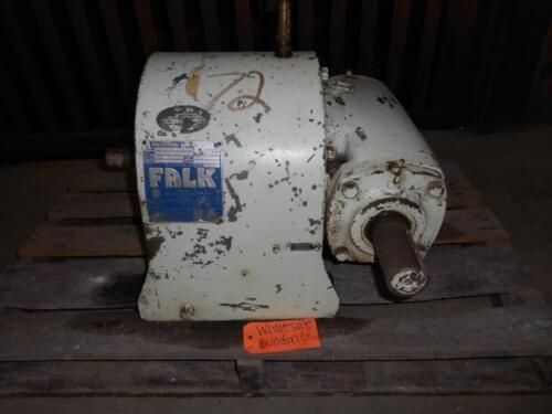 FALK, ENCLOSED GEAR DRIVE, 3CB3-10B3, 1750 RPM, 7.497 RATIO, 15.3HP