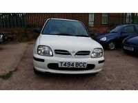 Automatic Nissan Micra 1.3 16v GX 5dr. In very good condition. Mot Feb 2018. Service history.