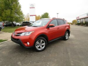 2015 Toyota RAV4 XLE Toyota Certified Local Trade One Owner...