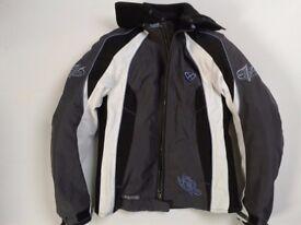 IXON 'Vega' textile women's motorbike jacket size 5 (10/12)