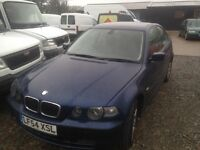 BMW Compact in great condition -Non runner