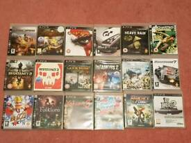 Ps3 games £5 each big selection
