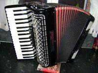 serenelini 72 bass Italian accordion lightweight model