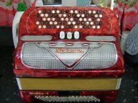hohner chromatic accordion 96 bass lightweight model