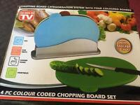 Chopping boards 4 piece