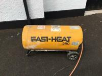 Propane gas workshop heater
