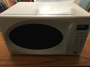 White Danby Microwave In Great Shape!