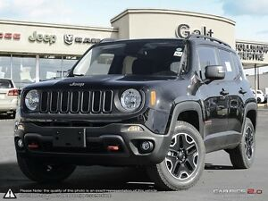 2016 Jeep Renegade | TRAILHAWK | 4X4 | X COMPANY DEMO | 6.5 TOUC