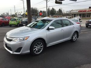 2013 TOYOTA CAMRY LE - REAR VIEW CAMERA, BLUETOOTH, CRUISE, ALLO