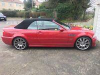 2001 E46 Manual BMW M3 RARE IMOLA RED W/RED NAPPA LEATHER