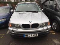 BMW X5 3.0d - Automatic - left hand drive - LHD - spares or repairs - export