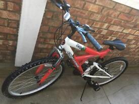 Bike With Suspension & Accessories