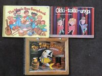 Music song books - teacher, children