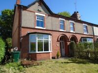 3 Bed Semi for rent with Parking, garage and gardens in Chester! Pets considered.