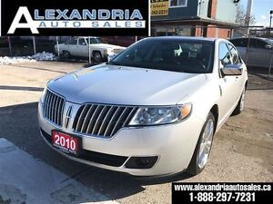 2010 Lincoln MKZ 157 km leather sunroof safety & e test