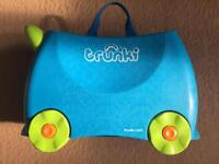 Trunki Ride On Luggage - Terrence Blue