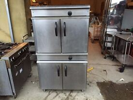 COMMERCIAL TWIN GAS OVEN CAFE RESTAURANT BAKERY PATISSERIE KEBAB CATERING KITCHEN SHOP