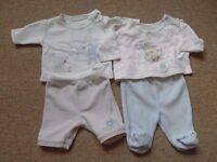2 x 2 piece sets for baby boy - newborn tiny baby